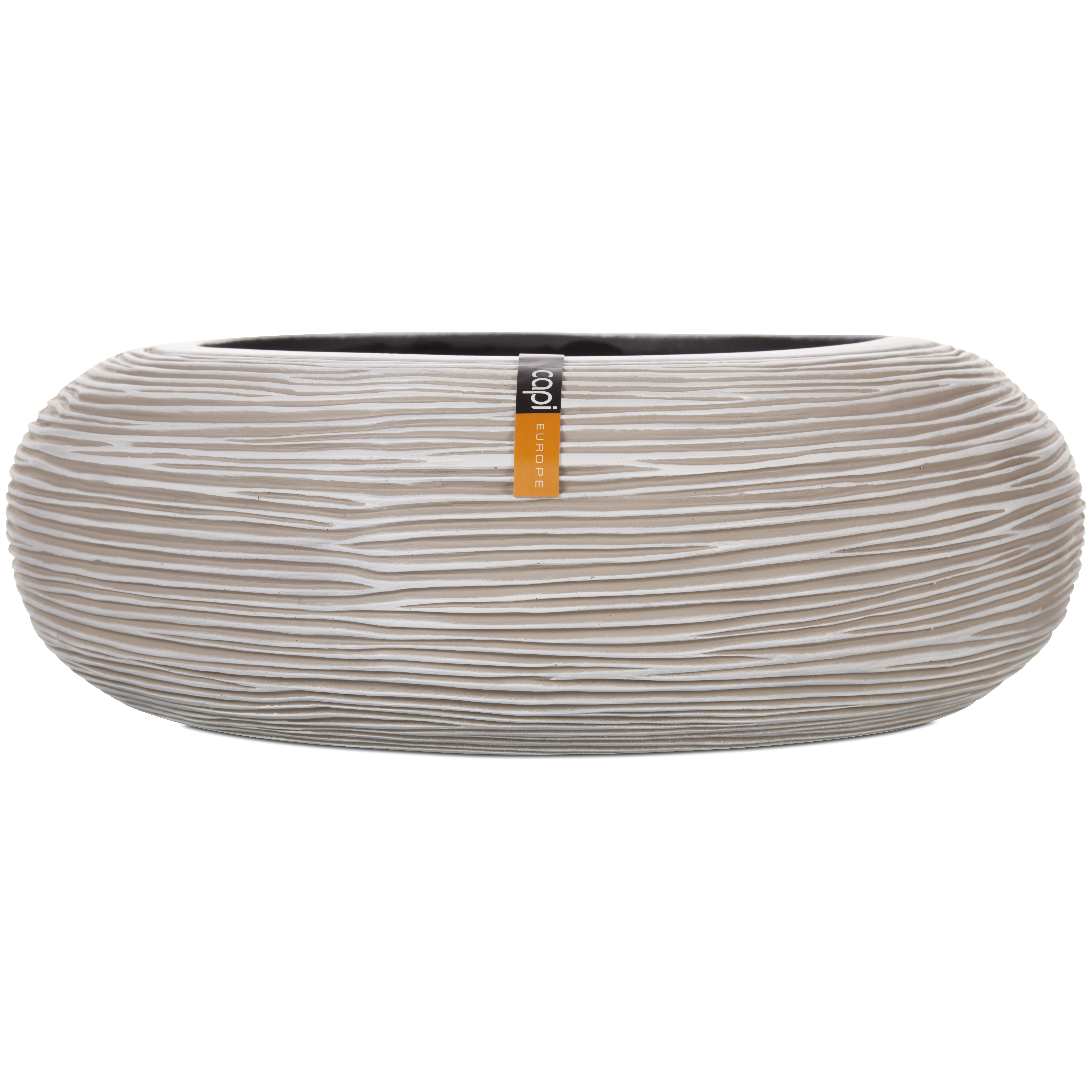 Capi Europe – Nature Rib Round Bowl – Ivory – 35cm