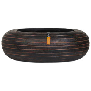 Capi Europe – Nature Row Round Bowl – Brown – 35cm